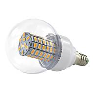 4.5W E14 Lampadine globo LED 69 SMD 5730 420 lm Bianco caldo Luce fredda V 1 pezzo