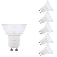 3W GU10 LED-kohdevalaisimet MR16 1 COB 250 lm Lämmin valkoinen AC 100-240 V 6 kpl