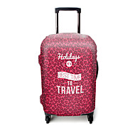 Bagagehoes voor Bagage-accessoire Polyester-Violet Pink