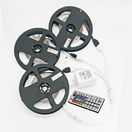 ZDM 15M(3*5M) 2835 RGB 900 LEDs 72W Strip Flexible Light LED Tape String Lights DC 12V  with 44Key IR Remote Controller Kit