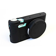 Dengpin Soft Silicone Armor Skin Rubber Camera Cover Case Bag for casio Ex-zr5500 zr5000 zr3600 zr3500 (Assorted Colors)