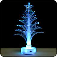 2pcs 7-color geführtes Minifaser transparentes leuchtendes Weihnachtsbaumlicht (gelegentliche Farbe)