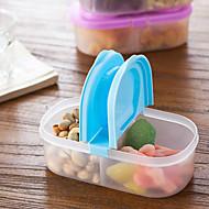 Preservación del refrigerador de los bocados de la fruta de la clamshell de la litera 1pcs selló el alimento plástico más nítido de la