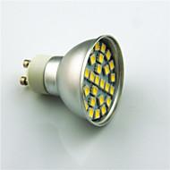 3W GU10 LED-kohdevalaisimet 29 SMD 5050 350 lm Lämmin valkoinen Kylmä valkoinen Koristeltu AC220 V 1 kpl