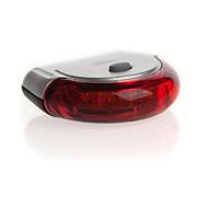 sikkerhedslys sikkerhedsmæssige reflektorer baglygter LED Cykling Varsling Lumen Batteri Rød Cykling