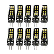 YWXLight® G4 3W 16LED 2835SMD 200-300 Lm Warm White Natural White Cold White Decorative LED Bi-pin Lights AC/DC 10-30V 10 pcs