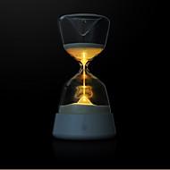Berørbar flerfarvet sandglas ledet nattelampe til søvn 4 farver skiftende timeglas timer sand nat lys yellowbluepinkpurle