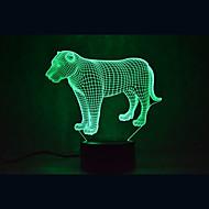 크리스마스 사자 거북 터치 터치 어둠 3D 조명 주도 조명 7colorful 장식 분위기 램프 참신 조명 크리스마스 빛