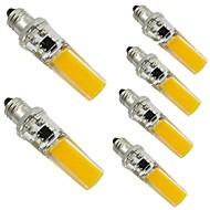 3W E14 G9 G4 Luminárias de LED  Duplo-Pin T 1 COB 300 lm Branco Quente Branco Regulável Decorativa AC 220-240 V 6 pçs