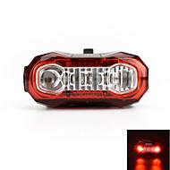 baglygter LED LED Cykling Genopladelig Super let Varsling USB Lumen USB Rød Cykling Udendørs