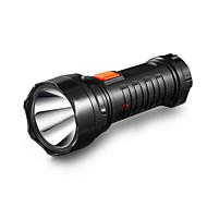 YAGE-3738 Led 1PCS Flashlight Rechargable Torch Built-in Battery Light 2-Mode Lanterna Linterna Lampe Torche Battery Inside