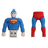 Nuovo creatore creativo del superman usb 2.0 128gb l'azionamento istantaneo dell'istantaneo del disco di u dell'azionamento