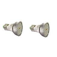 7W E14 GU10 E27 LED Grow Lights 40 SMD 5730 800-1200 lm Warm White White Red Blue AC85-265 V 2 pcs