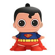 Nuovo creatore creativo del superman usb2.0 64gb dell'azionamento di memoria dell'azionamento dell'azionamento dell'istantaneo del fumetto