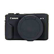 Dengpin Soft Silicone Armor Skin Rubber Camera Cover Case Bag for Canon PowerShot G7 X Mark II g7x2 (Assorted Colors)