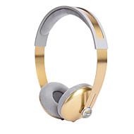 liboer bh668 머리띠 밴드 컴퓨터 전선으로 무거운베이스 금속 이어폰으로 휴대 전화