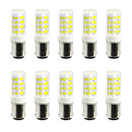 5W Luminárias de LED  Duplo-Pin 52 SMD 2835 400-500 lm Branco Quente Branco Frio V 10 pçs