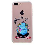 Para iphone 7 mais 7 telefone capa de material tpu sonho menina série caso de telefone 6s mais 6 mais 6s 6 5s 5 se