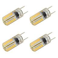 3W LED Bi-Pin lamput T 64 SMD 3014 260 lm Lämmin valkoinen Kylmä valkoinen V 4 kpl