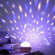 1pc mönster är slumpmässigt original artware sänglampa starry sky projektion led natt lampa