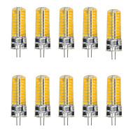 YWXLight® 10Pcs G4 5W 72LED 5730 SMD 500-600 Lm Cool White Warm White LED Bi-Pin Lights DC 12-24V / AC 12V