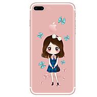 Caso para iphone 7 7 mais teste padrão de desenho animado tpu capa traseira suave para iphone 6 mais 6s mais iphone 5 se 5s 5c 4s