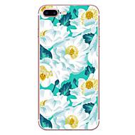Voor apple iphone 7 7 plus 6s 6 plus hoesje hoesje bloempatroon hd beschilderd tpu materiaal zacht geval telefoon hoesje