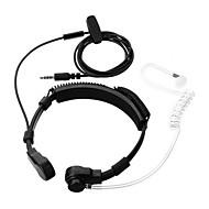 Cwxuan 3.5mm Throat-Vibration Anti-Radiation Air Duct Earphone / Mic