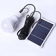 1.5W Cool White Solar LED Bulb 1pcs