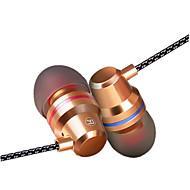 Écouteurs stéréo intra-auriculaires casque écouteur haute fidélité avec microphone