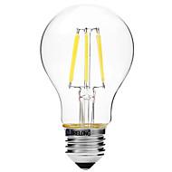 BRELONG Dimming A60 E27 6W 6LED 300LM Antique Filament Lamp Warm White / White AC22OV Transparent Bulb Light