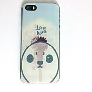 Para Apple iphone se / 5s iphone 5 caso tampa padrão capa capa snowman soft tpu