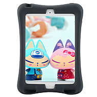 For Apple iPad Mini 3/2/1 Case Cover Shockproof with Stand Full Body Case Solid Color Soft Silicone