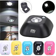 ywxlight® mini langaton dual induktio pir infrapunaliiketunnistin katto kehon anturi yövalo akkukäyttöinen eteinen kaappi lamppu 1 kpl