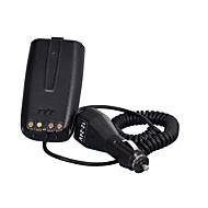 Voor tyt f5 autolader batterij eliminator walkie talkie ham radio hf transceiver