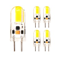 2W Mini Silicone GY6.35 Led Light Bulb 12V AC/DC for Chandelier/Cook Hood/Indoor 180 lm Warm/Cool White  (5 pcs)
