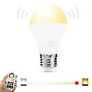 6W LED-älyvalot A60(A19) 20 SMD 5730 600 lm Lämmin valkoinen Valkoinen Dual Light Source ColorInfrapunasensori Kauko-ohjattava WIFI