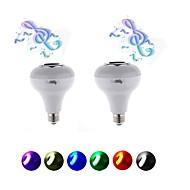 5W Slimme LED-lampen 15 SMD 5050 200 lm RGB AC220 V 2 stuks