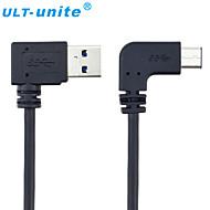 USB 3.0 Cabo, USB 3.0 to USB 3.0 Tipo C Cabo Macho-Macho 1.0m (3 pés)