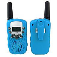 Draagbaar VOX Scan CTCSS/CDCSS Sleutelslot Selectief gesprek 1,5km-3km 1,5km-3km 22/8 2 stuks Walkie Talkie Two Way Radio