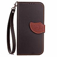 Voor Samsung Galaxy Note 4 Notitie 5 Case Cover Kaarthouder Portemonnee Met Stand Flip Full Body Hoesje Solid Color Hard PU Leather Voor