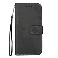 Kotelo apple iphone 7 7 -pidike lompakko, jossa jalusta käännettävä kohokuvioitu koko kehon kotelo kukka kimallus kiiltävä kova pu nahkaa