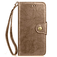 Taske til lg g5 g6 cover dækning kortholder pung med stativ flip fuld kropscase solid farve hard pu læder til lg g3 g4