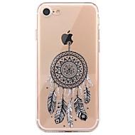 Tok iphone 7 6 álom catcher tpu puha ultra-vékony hátlap burkolat iphone 7 plus 6 6s plus se 5s 5 5c 4s 4