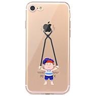 Tok az iphone 7 6 -hoz játék az alma logo tpu puha ultra-vékony hátlap burkolat fedél iphone 7 plusz 6 6s plus se 5s 5 5c 4s 4