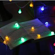 5W Žice sa svjetlima 100 lm AC100-240 V 10 m 100 LED diode Meleg fehér RGB