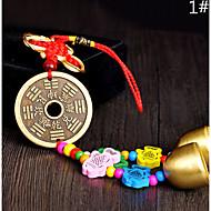 Worek / telefon / keychain urok jingle bell cartoon zabawka chiński styl metalu