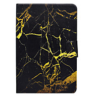 Pokrowiec na samsung galaxy tab t580 t560 wzór marmuru pu materiał skórzany płaski pokrowiec ochronny t550 t530 t350 t330 t280