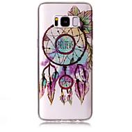 Tok samsung galaxy s8 plusz s8 telefon tok tpu anyag imd folyamat dreamcatcher minta hd flash por telefonos tok s7 él s7 s6 él s6
