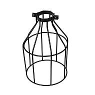 Vintage ipari diy fekete fém madár ketrec lámpa árnyék világítás fedél függő lámpák fali lámpák csere lámpa fedél